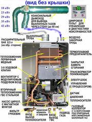 Ремонт котла отопления 89097880954 газовой колонки в Калининграде.