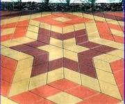 Плитка тротуарная вибро-литая