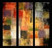 Цветовые художественные полотна