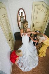 Шикарное свадебное платье San Patrick 2014