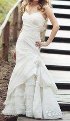 Продам свадебное платье б/у Калининград 12000