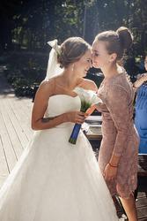 очень крутое свадебное платье