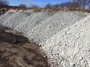 Щебень гравийный или гранитный в наличии с доставкой от 1 до 30 тонн