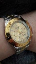 Часы Rolex Daytona мужские,  цвет золото