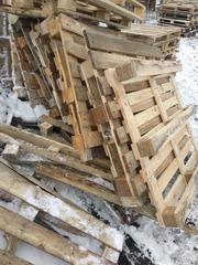 Бюджетные дрова из паллет